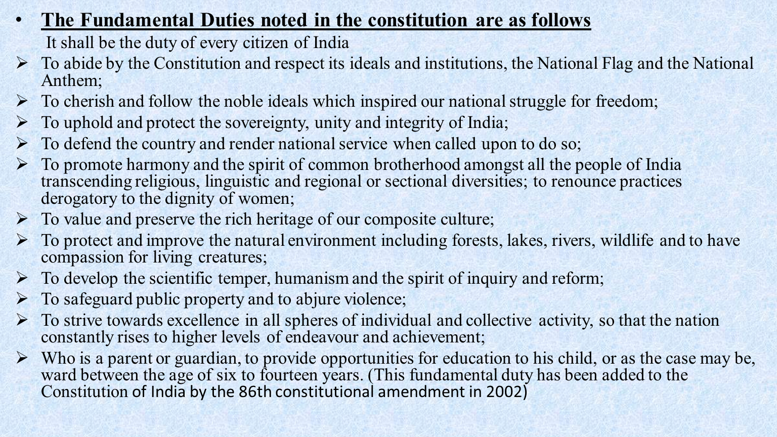 relation between fundamental rights and dpsp Justiciability of esc rights the indian experience introduction part iccpr rights and esc rights holds good for the distinction that is drawn in the indian con text between fundamental rights and dpsp 4 thus the bar to but the enforcement of the judgments in relation to.
